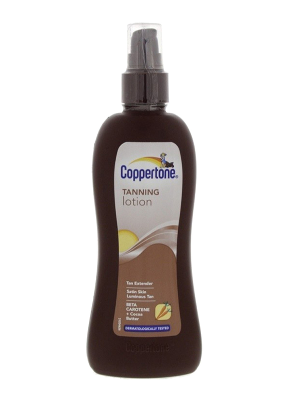 Coppertone Tanning Lotion, 200ml