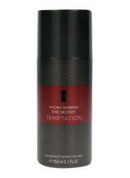 Antonio Banderas The Secret Temptation Deo Spray for Men, 150ml