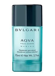 Bvlgari Aqva Pour Homme Marine 75ml Deodorant Stick for Men