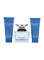 Tommy Bahama 3-Piece Maritime Deep Blue Gift Set for Men, 125ml EDC, 100ml Hair and Body Wash, 100ml After Shave Balm