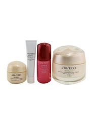Shiseido Smooth Skin Sensations Benefiance Set for Women, 4-Pieces