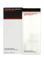 Porsche Design Sport Hair & Body Shampoo, 200ml
