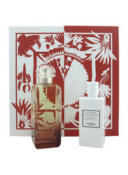 Hermes 2-Piece Un Jardin Sur La Lagune Gift Set for Women, 100ml EDT, 80ml Body Lotion