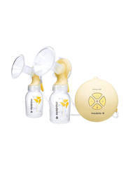 Medela Swing Maxi Double Electric Breast Pump, 150ml, Yellow