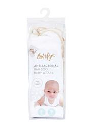 Bebitza Antibacterial Baby Wraps, Cream