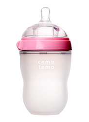Comotomo Natural Feel Baby Bottle 250ml, Pink