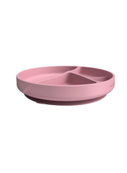 Everyday Baby Silicone Suction Plate, Purple Rose