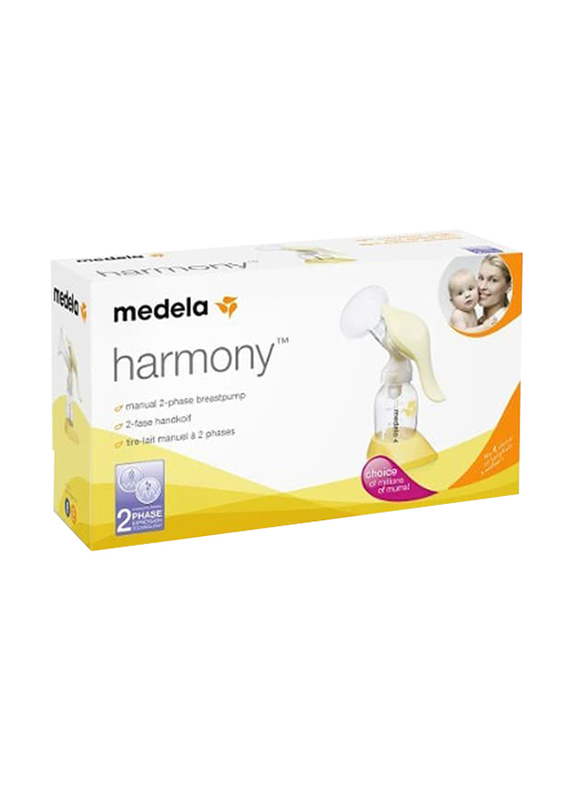 Medela Harmony Manual Breast Pump, Yellow