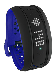 Mio Global Fuse Heart Rate Monitor and Activity Tracker, Large, Cobalt Blue