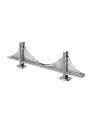 3D Metal Golden Gate Bridge Model Sheet, Ages 6+