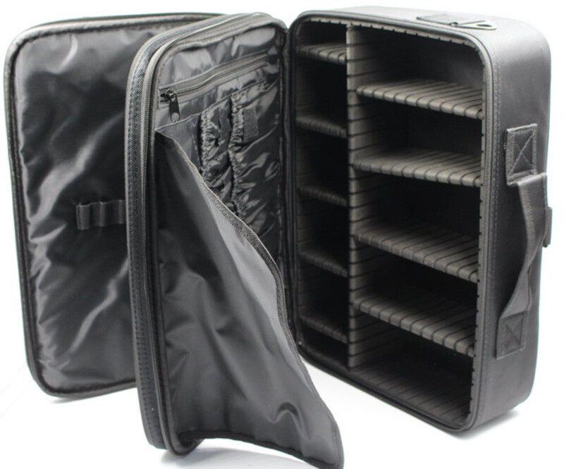 Beauty Cottage Large Size Organizer Bag for Makeup and Makeup Tools, Black