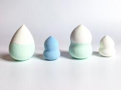 Keli Mini Beauty Blender Makeup Puff, Multicolor