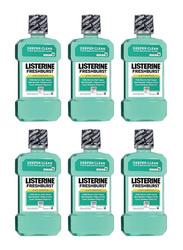 Listerine Fresh Burst Antiseptic Mouthwash, 250ml, 6 Pieces