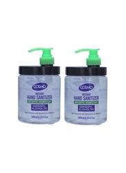 Cosmo Instant Hand Sanitizer Gel, 1000ml x 2 Pieces