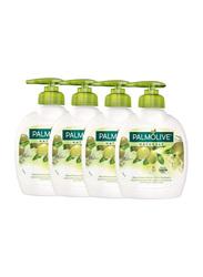 Palmolive Olive & Milk Liquid Hand Soap, 300ml, 4 Pieces