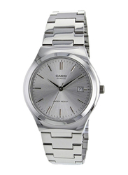 Casio Analog Quartz Watch for Men with Stainless Steel Band, MTP-1170A-7A, Silver