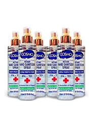 Cosmo Instant Hand Sanitizer Spray, 250ml, 6 Pieces