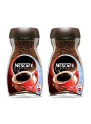 Nescafe Classic Ground Coffee, 2 Jars x 200g