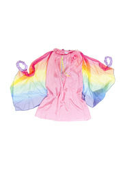 Sarah's Silk Natural Pure Silk Fairy Dress, Pink