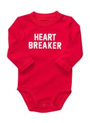 Valentine Heart Breaker Onesie & Tutu Set, Red