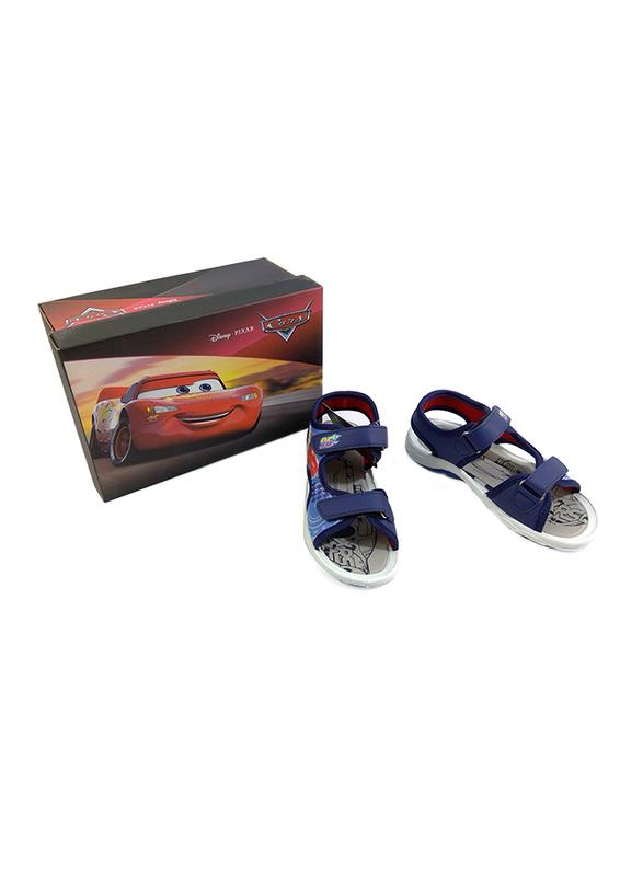 Disney Cars Lightning McQueen Sandals for Boys, 28 EU, Dark Blue