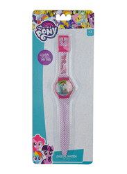 Hasbro My Little Pony Digital Watch for Girls, 3+ Years, One Size, Multicolor