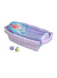 The First Year Ariel Shell Bath Tub with Toys for Newborn, Pink