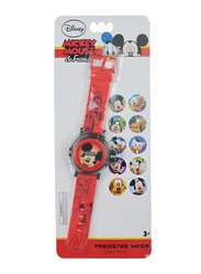 Disney Mickey & Friends Projector Watch for Boys, 3+ Years, One Size, Multicolor