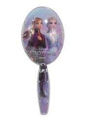 Disney Frozen II Hair Round Brush for Girls, Purple
