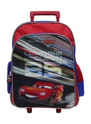 Disney Cars Lightening Speed 14 -Inch Trolly Bag for Boys, Blue