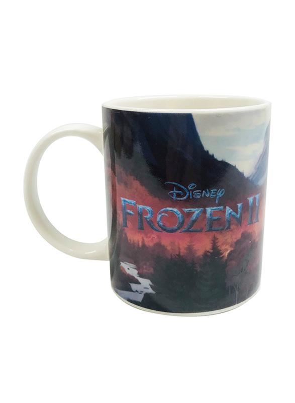 Disney Frozen II Movie Can Shape Ceramic Mug for Girls, 300ml, Multicolor