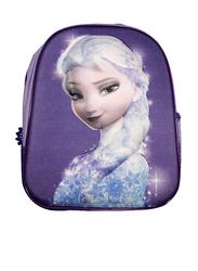 Disney Frozen Elsa Printed 12-Inch Backpack for Girls, Multicolour