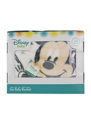 Disney Mickey Baby Sac Wrap Zipper Swaddling Blankets for New Born, 80 x 90cm, Multicolor