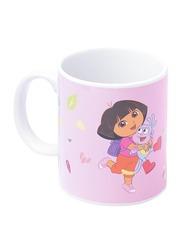 Nickelodeon Dora The Explorer Can Shape Ceramic Mug for Girls, Multicolor