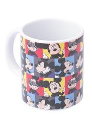 Disney Mickey Mouse Can Shape Ceramic Mug for Boys, 300ml, Multicolor