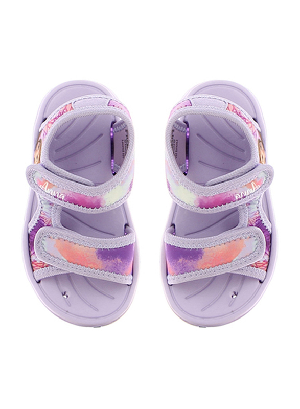 Disney Frozen II Sandals for Girls, 25 EU, Lilac