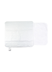 Babyworks Waterproof Mattress & Sheet Protector, White