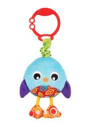 Playgro Wiggling Poppy Penguin Stem Toy, Multicolour
