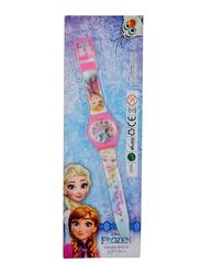 Disney Frozen Analog Watch for Girls, One Size, Blue