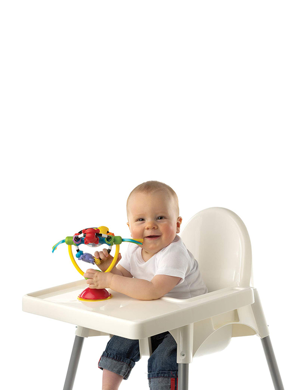 Playgro High Chair Spinning Toy, Multicolour