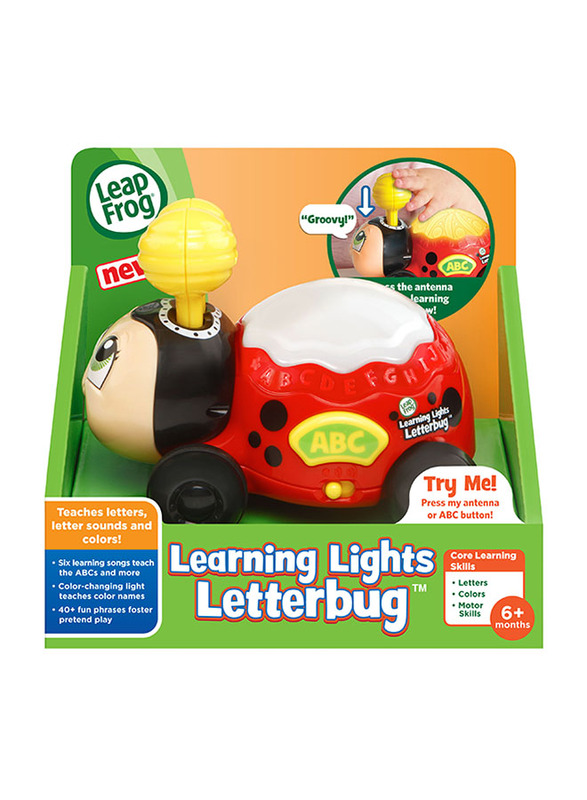 Leap Frog Learning Lights Letter Bug, Ages 6 Months+