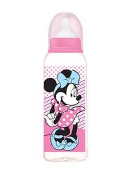 Disney BPA Free Baby Feeding Bottle, 0+ Months, 260ml, Minnie Mouse, Pink