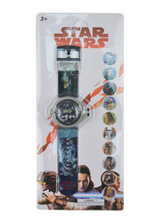 Lucas Star Wars Projector Watch for Boys, 3+ Years, One Size, Blue