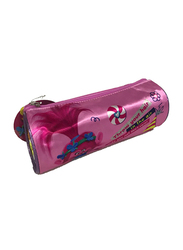 Universal Trolls Hair Up 7.2-Inch Pencil Case for Girls, Pink