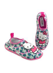 Sanrio Hello Kitty Themed Slip-On Sneakers for Girls, 28 EU, Fuchsia