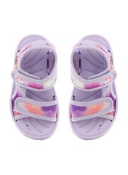 Disney Frozen II Sandals for Girls, 24 EU, Lilac