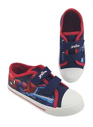 Marvel Spiderman Sneakers for Boys, 27 EU, Navy