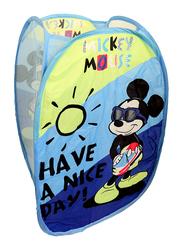 Disney Mickey Mouse Laundry Hamper, Blue