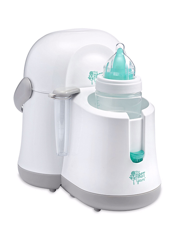 The First Years Night Cravings Bottle Warmer & Cooler, White