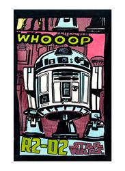 Lucas Star Wars Beach Bath Towel for Boys, 70 x 140cm, Pink/White/Black